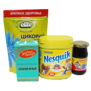 какао / цикорий / кофейные напитки