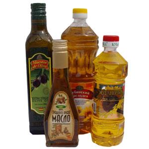 подсолнечное не рафинированное масло