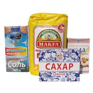 Мука/Сахар/Соль/Сода