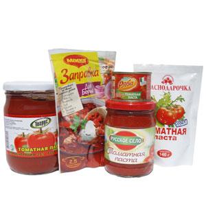 томатная паста / заправки
