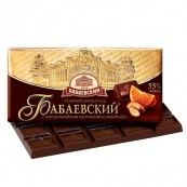 Шоколад темный Бабаевский с апельсином и миндалем 100гр.