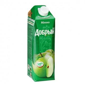 Сок Добрый яблоко 1л.