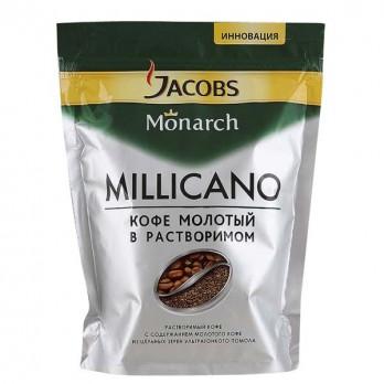 Кофе Jacobs Monarch Millicano молотый в растворимом 150 гр.