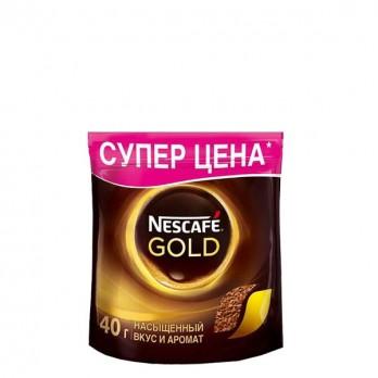 Кофе Nescafe Gold растворимый сублимированный 40 гр.