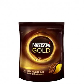 Кофе Nescafe Gold растворимый сублимированный 75гр.