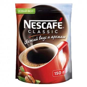 Кофе Nescafe  Classic растворимый гранулированный 150гр.