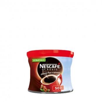 Кофе Nescafe Classic растворимый гранулированный 50гр.