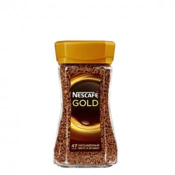 Кофе Nescafe Gold растворимый сублимированный 95гр.
