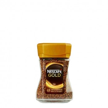 Кофе Nescafe Gold растворимый сублимированный 47,5гр.