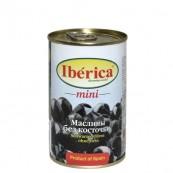 Маслины Iberica mini черные без косточки 300гр