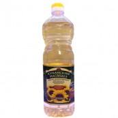 Масло подсолнечное Кубанский Маслодел рафинированное 1л.