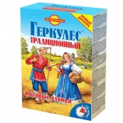 Хлопья овсяные Геркулес Русский продукт традиционный 500гр.