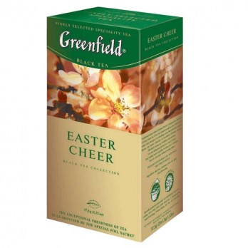 Чай черный Greenfield Easter cheer 25пак