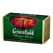 Чай черный Greenfield Kenyan sunrise 25пак