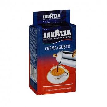 Кофе Lavazza Crema e Gusto Gusto молотый 250гр.