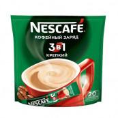 Напиток кофейный Nescafe 3 в 1 Крепкий 20 пак