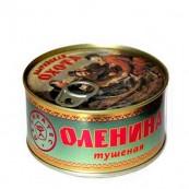 Оленина тушенная Охота 325гр.