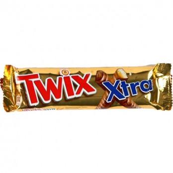 Батончик шоколадный Twix Extra 82гр.