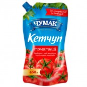 Кетчуп Чумак томатный 450гр.