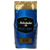 Кофе Ambassador Blue Label в зернах 1кг.