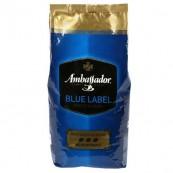 Кофе Ambassador Blue Label в зернах 1кг.