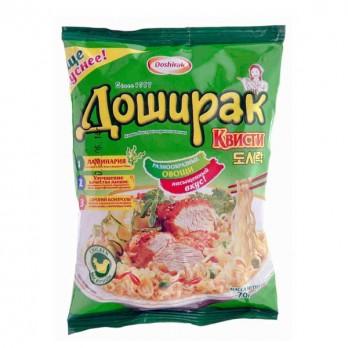 Лапша Доширак Квисти со вкусом курицы 70гр.