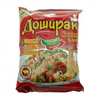 Лапша Доширак Квисти со вкусом говядины 70гр.