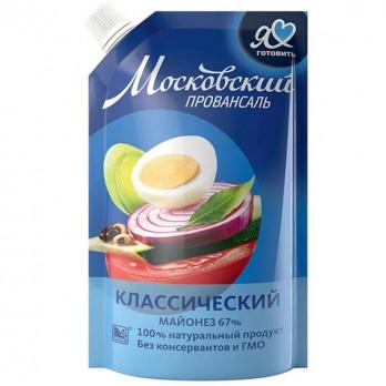 Майонез Московский провансаль Классический 67% 680гр.
