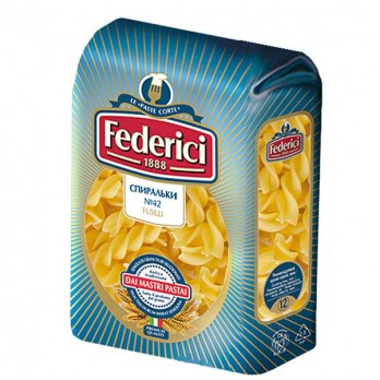 Макароны Federici спираль 500 гр.