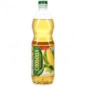 Масло Слобода кукурузное рафинированное 1л.