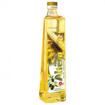 Масло Altero Gold подсолнечное с добавление оливкового 810мл.