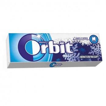 Жевательная резинка Orbit зимняя свежесть 13,6гр.