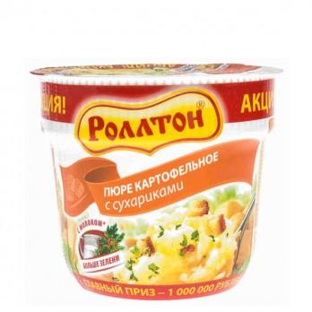 Пюре картофельное Роллтон в ас-те 40гр.