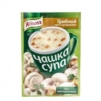 Суп грибной Knorr Чашка супа с сухариками 15гр.