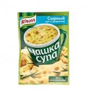 Суп сыр/грибы Knorr с сухариками 16гр.