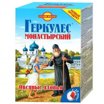 Хлопья овсяные Геркулес Русский продукт Монастырский 500гр.