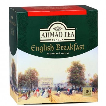 Чай черный Ahmad Tea English Breakfast 100пак.