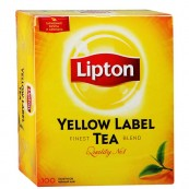 Чай черный Lipton Yellow label 100пак.