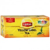 Чай черный Lipton Yellow label 25пак.