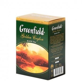 Чай черный Greenfield Golden Ceylon крупнолистовой 100гр.
