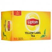 Чай черный Lipton Yellow label 50пак.