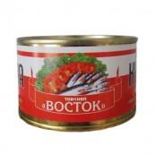 Килька черноморская Во СТО Крат неразделенная в томатном соусе 240гр.