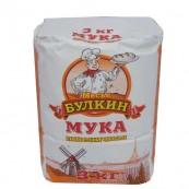 Мука Месье Булкин пшеничная  3кг.