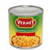 Кукуруза  «Vernet» сладкая 340гр.