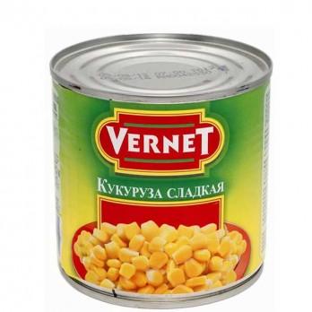 Кукуруза  «Vernet» сладкая 400гр.