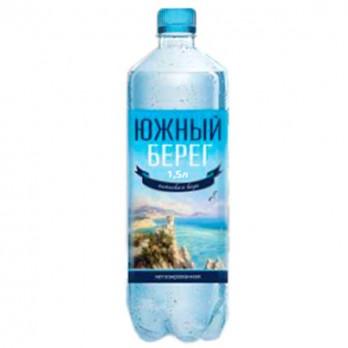 Вода питьевая Южный берег газированная 1,5л.