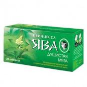 Чай зеленый Принцесса Ява «Душистая мята» 25пак.