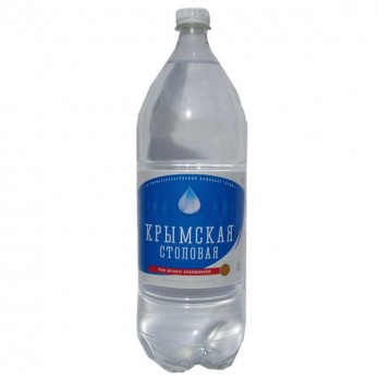 Вода столовая Крымская негазированная 2л.