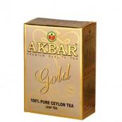 Чай черный Акбар «Gold» 100гр.