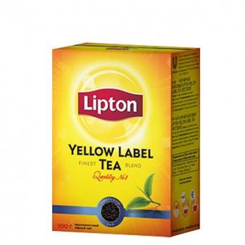 Чай черный Lipton «Yellow label » 100гр.